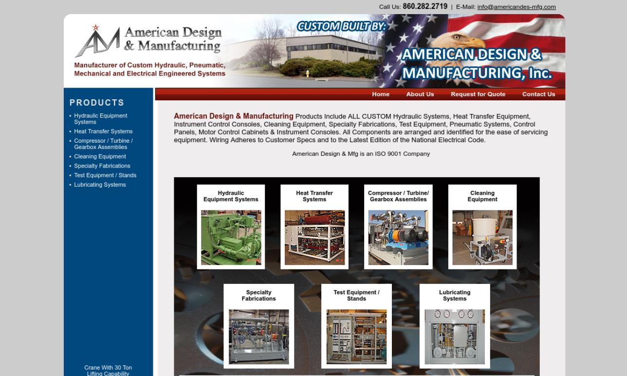 American Design & Manufacturing, Inc.