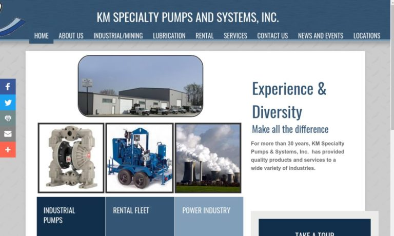 K/M Specialty Pumps & Systems, Inc.