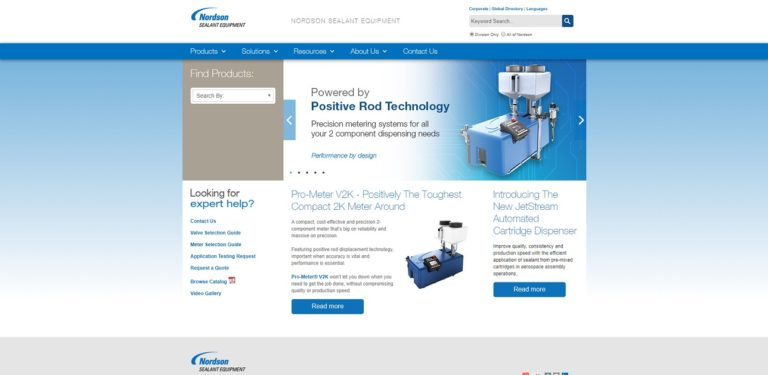 Nordson Sealant Equipment