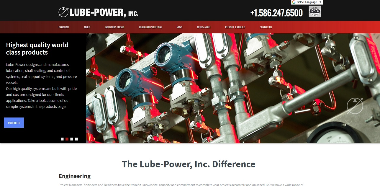 Lube-Power, Inc.