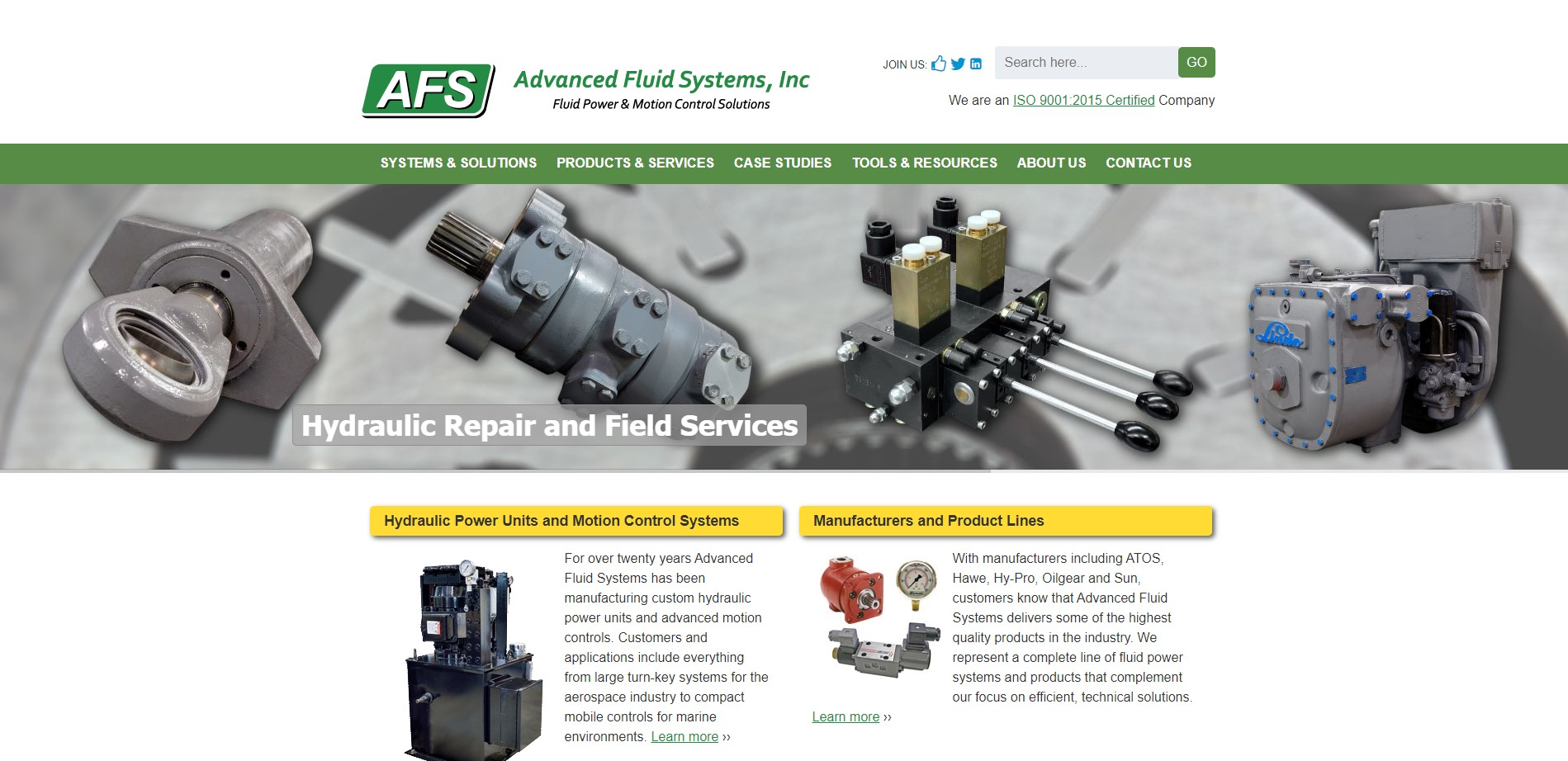 Advanced Fluid Systems, Inc.